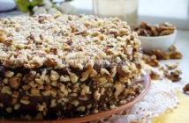 Вкусный и простой бисквитный торт