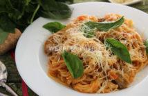 Рецепт спагетти по-итальянски