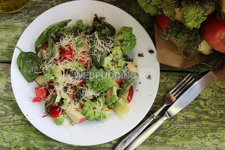 Салат из романеско