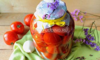 Маринованные помидоры с луком и перцем на зиму