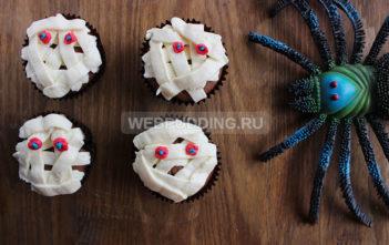 Кексы на Хэллоуин
