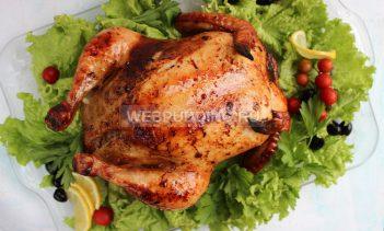 Курица фаршированная гречкой в духовке рецепт с фото