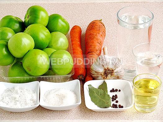 marinovannye-zelyonye-pomidory-s-morkovyu-i-chesnokom-1
