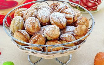 Печенье «Орешки со сгущённым молоком»