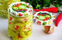 """Салат """"Кобра"""" из зеленых помидор"""