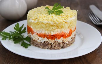 Салат «Мимоза» классический рецепт