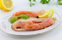 Как засолить брюшки лосося в домашних условиях