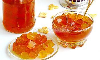 Варенье и цукаты из арбузных корок