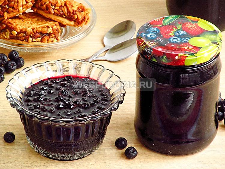 Варенье из черноплодной рябины с вишнёвым листом