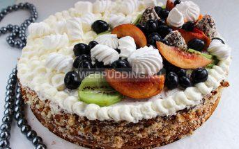 Бисквитный торт, очень вкусный и простой рецепт