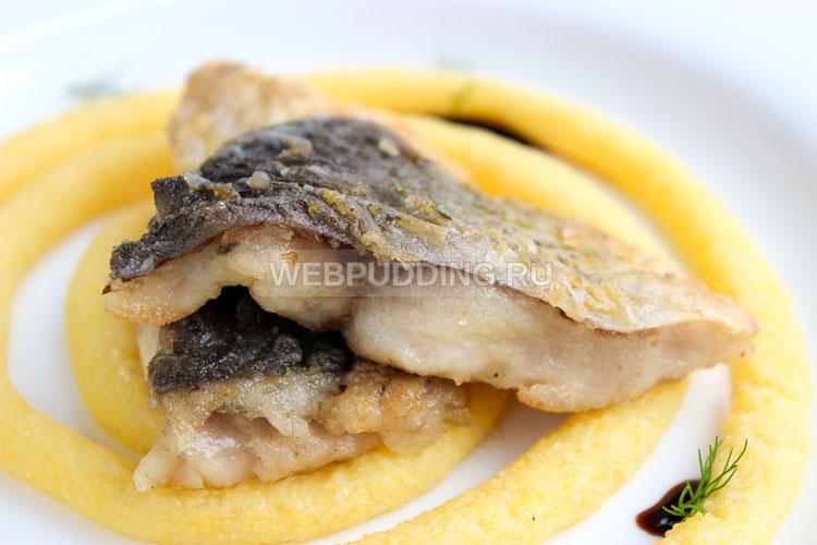Рыбное филе жареное на сковороде
