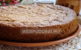 Медовый бисквит пошаговый рецепт с фото