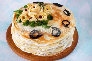 blinnyj-tort-s-kuricej-i-gribami-11