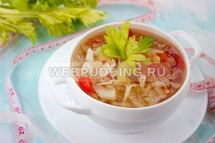 Сельдерейный суп для похудения
