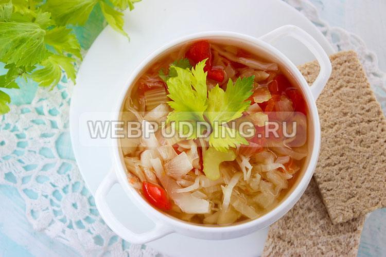Рецепты супов для похудения с фото