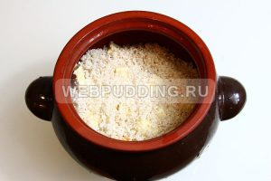 pshyonno risovaya kasha s tykvoj v gorshochke 5