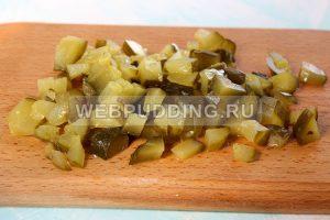 salat s pechenyu treski bez majoneza 3