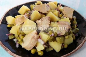 salat s pechenyu treski bez majoneza 5