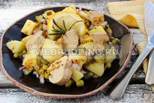 salat s pechenyu treski bez majoneza 8
