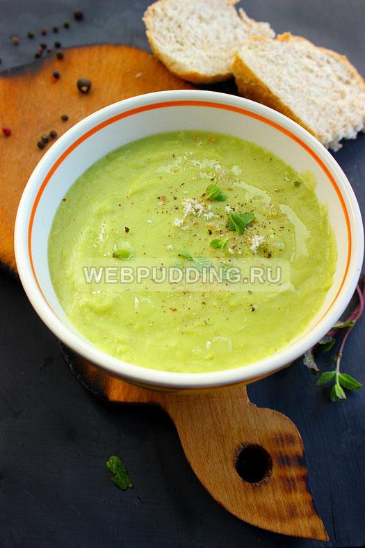 sup iz zelenogo goroshka s myatoj 10