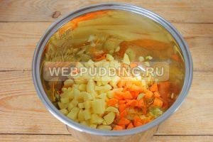 sup v multivarke s risom i rybnymi konservami 3