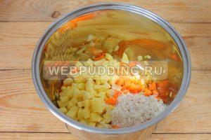 sup v multivarke s risom i rybnymi konservami 4