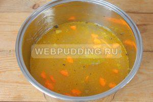 sup v multivarke s risom i rybnymi konservami 6