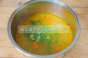 sup v multivarke s risom i rybnymi konservami 7