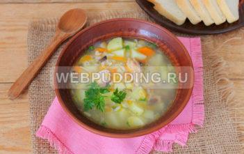 Суп в мультиварке с рисом и рыбными консервами