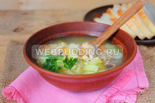 sup v multivarke s risom i rybnymi konservami 9