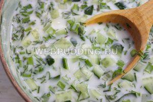 kefirnyj sup s ogurcom 5