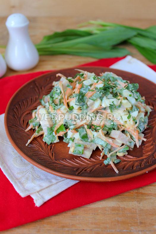 salat iz cheremshi s balykom 9