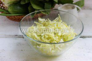 salat iz molodoj kapusty so shpinatom 2
