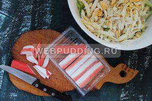 salat s krabovymi palochkami i ogurcom 4