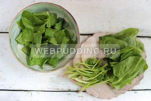 salat so shpinatom i rediskoj 1
