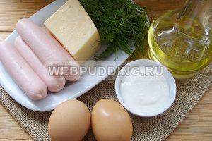 brizol s sosiskoj i syrom 1