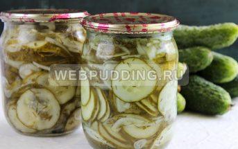 Нежинский салат с огурцами