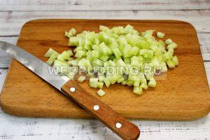 salat iz krabovyh palochek s risom 4
