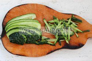 salat iz dajkona s ogurcom 2