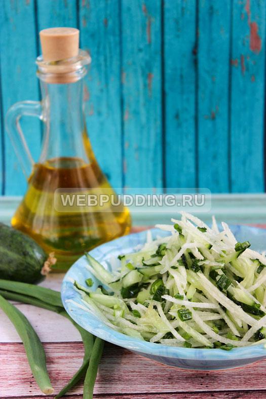 salat iz dajkona s ogurcom 7