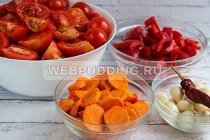 adzhika iz pomidorov s chesnokom 1
