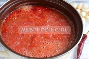 adzhika iz pomidorov s chesnokom 2