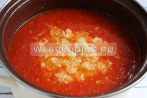 adzhika iz pomidorov s chesnokom 3
