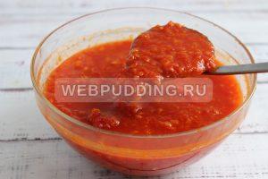 adzhika iz pomidorov s chesnokom 4