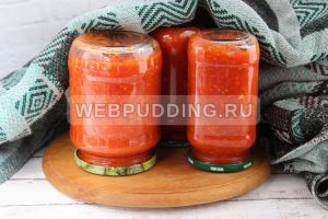 adzhika iz pomidorov s chesnokom 5