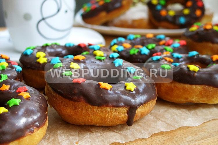 Домашние пончики на кефире