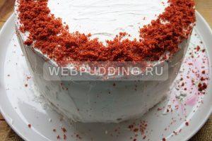 tort krasnyj barhat 17