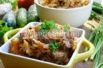 Бигус с мясом и капустой