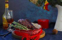 Индейка, запеченная в глазури