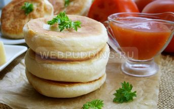 Пирожки бомбочки с помидорами